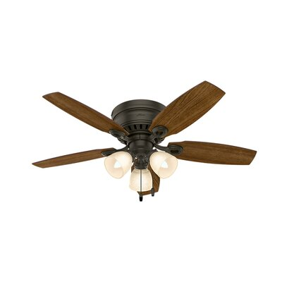 46 Blackmon 5 Blade Ceiling Fan Finish: Bronze
