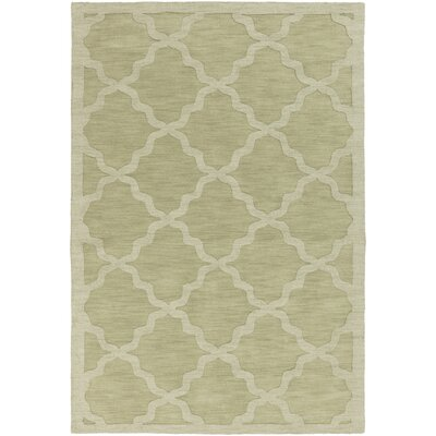Blankenship Sage Geometric Abbey Area Rug Rug Size: Rectangle 5 x 76