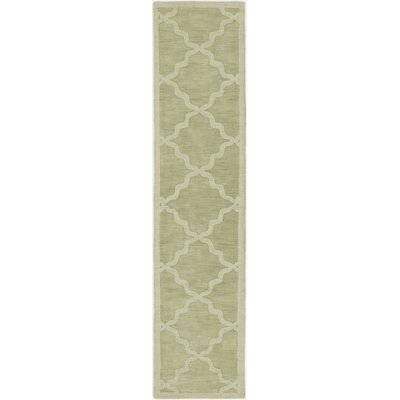 Blankenship Sage Geometric Abbey Area Rug Rug Size: Runner 23 x 12