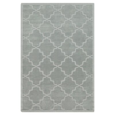 Blankenship Light Blue Geometric Abbey Area Rug Rug Size: 4 x 6