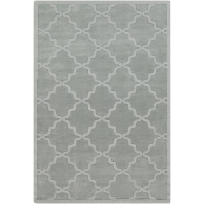 Blankenship Hand Woven Wool Light Blue Area Rug Rug Size: Rectangle 6 x 9