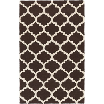 Blaisdell Brown Geometric Stella Area Rug Rug Size: Rectangle 76 x 96