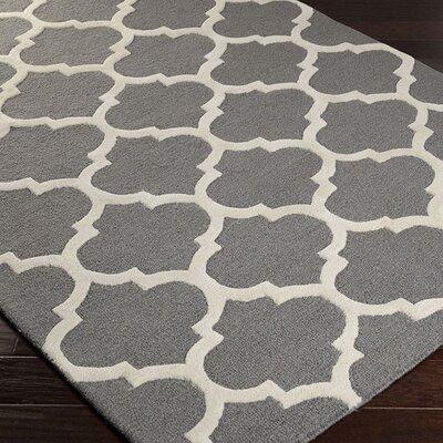 Blaisdell Gray Geometric Stella Area Rug Rug Size: 5 x 8