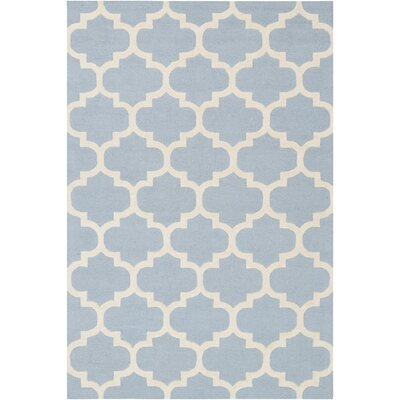 Blaisdell Blue Geometric Stella Area Rug Rug Size: Rectangle 6 x 9