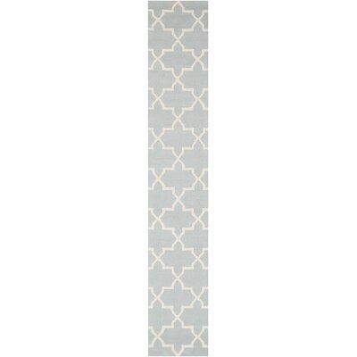 Blaisdell Blue Geometric Keely Area Rug Rug Size: Runner 23 x 14