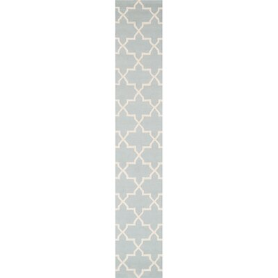 Blaisdell Blue Geometric Keely Area Rug Rug Size: Runner 23 x 12