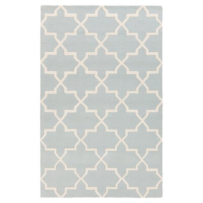 Blaisdell Blue Geometric Keely Area Rug Rug Size: Rectangle 4 x 6