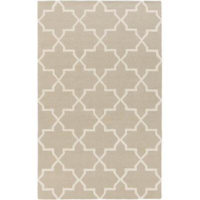 Blaisdell Beige Geometric Keely Area Rug Rug Size: Rectangle 5 x 8