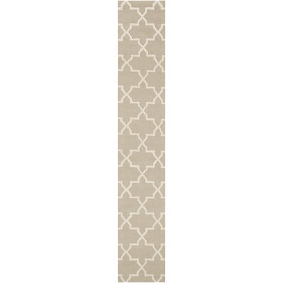 Blaisdell Beige Geometric Keely Area Rug Rug Size: Runner 23 x 8