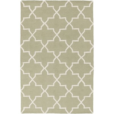 Blaisdell Sage Geometric Keely Area Rug Rug Size: Rectangle 4 x 6