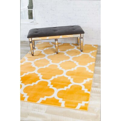 Blocher Mango Indoor/Outdoor Area Rug Rug Size: 52 x 72