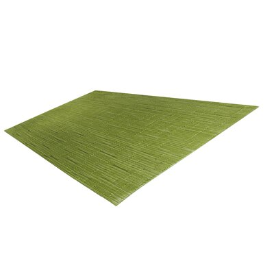 Bluegrass Indoor/Outdoor Placemat (Set of 4) Color: Tea Tree