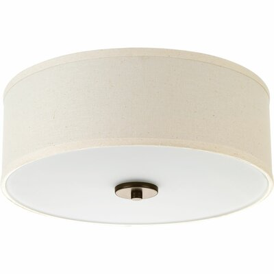 Greenwell 2-Light Flush Mount Finish: Antique Bronze