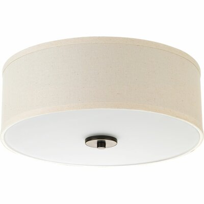 Greenwell 1-Light LED Flush Mount Finish: Antique Bronze