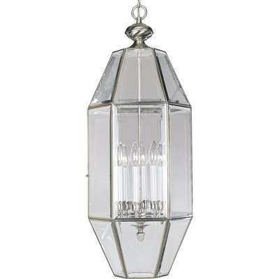 Bluebird 6-Light Foyer Pendant Finish: Brushed Nickel