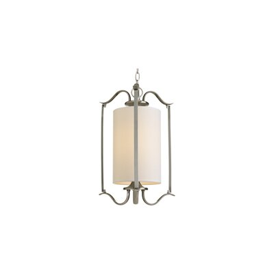 Greenwell 1-Light Foyer Pendant Finish: Brushed Nickel
