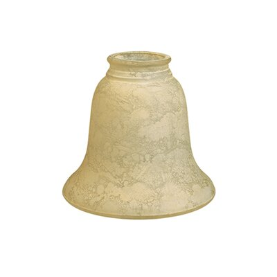 5 Scavo Glass Bell Pendant Shade Finish: Turninian Scavo