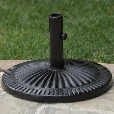 Bolingbrook Outdoor Resin and Steel Free Standing Umbrella Base