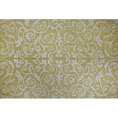 Bosch Gold Area Rug Rug Size: Rectangle 36 x 56