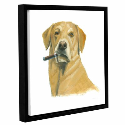 'The Boys I' Framed Painting Print on Canvas Size: 10
