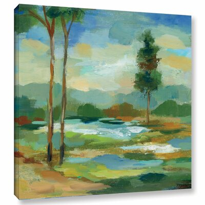 'Early Spring Landscape I' Painting Print on Wrapped Canvas Size: 10