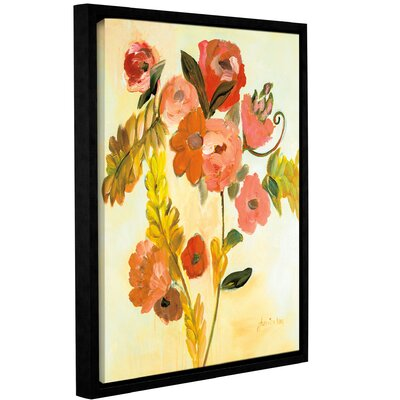 'Romance Bouquet' Framed Painting Print on Canvas Size: 10