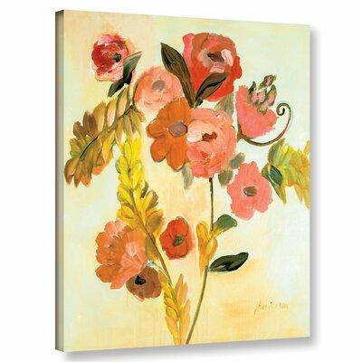 'Romance Bouquet' Painting Print on Canvas Size: 10