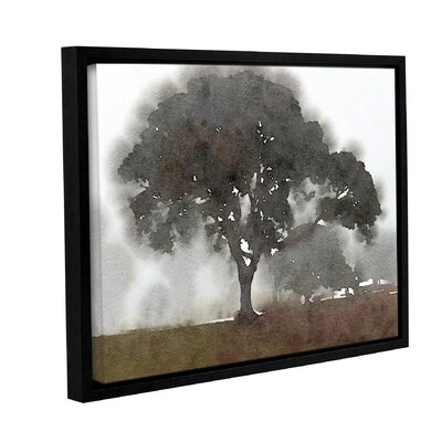 'In the Morning 2' Framed Painting Print on Canvas Size: 14