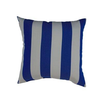 Amplas Stripe Throw Pillow Color: Riviera