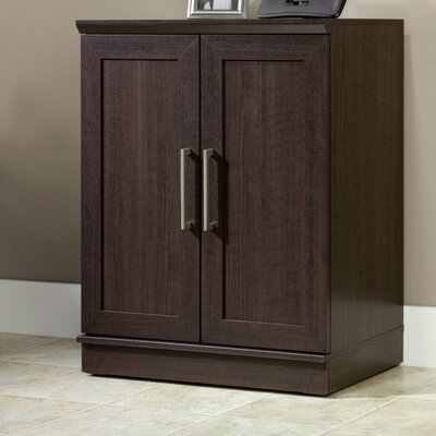 Amboyer 2 Door Storage Cabinet Finish: Dakota Oak
