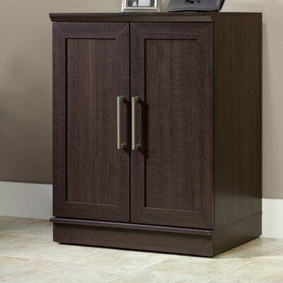 Amboyer 2 Door Storage Cabinet Finish: Dakota Oak