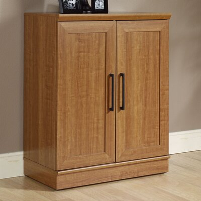Amboyer 2 Door Storage Cabinet Finish: Sienna Oak