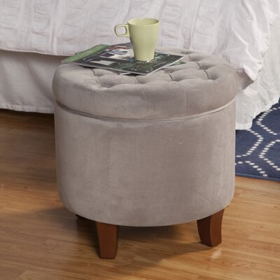 Botello Storage Ottoman Upholstery: Dove Gray