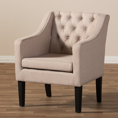 Boundary Bay Armchair Upholstery: Beige