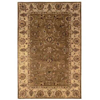 Blythewood Hand-Tufted Brown/Beige Area Rug Rug Size: 4 x 6