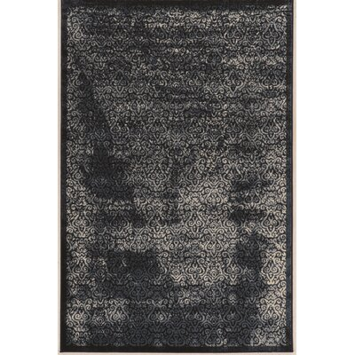 Bluff Canyon Black Area Rug Rug Size: 9 x 12