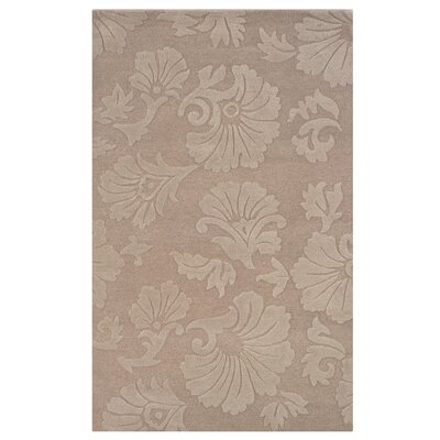 Goodrum Hand-Tufted Beige Area Rug Rug Size: Rectangle 5 x 8