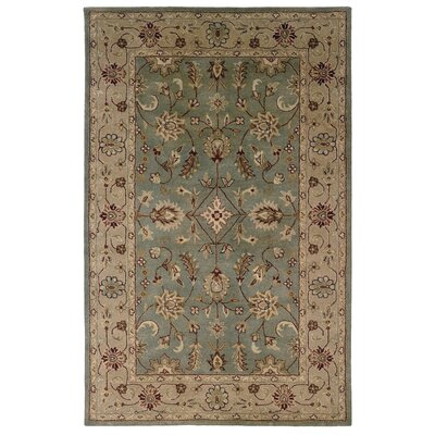 Gattis Hand-Tufted Gray/Beige Area Rug Rug Size: Rectangle 5 x 8