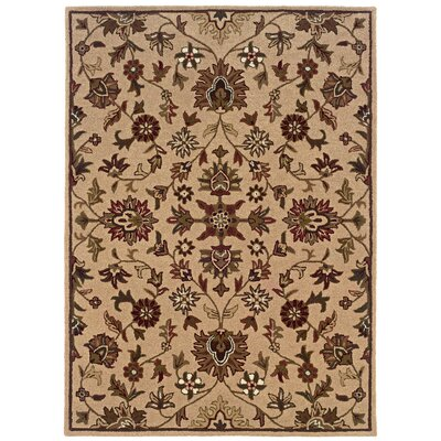Columban Hand-Tufted Beige Area Rug