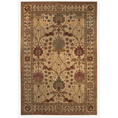 Gattis Hand-Tufted Beige Area Rug Rug Size: Rectangle 1'10