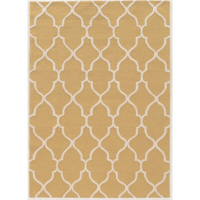 Columban Hand-Tufted Beige Area Rug Rug Size: Rectangle 110 x 210