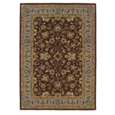 Columban Hand-Tufted Brown/Gray Area Rug