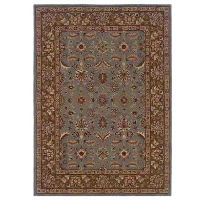 Columban Hand-Tufted Gray/Beige Area Rug Rug Size: Rectangle 8 x 10