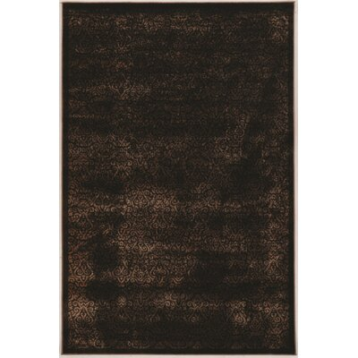 Bluff Canyon Ilussion Brown Area Rug Rug Size: 2 x 3