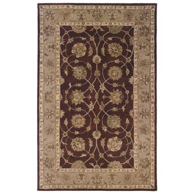 Gattis Hand-Tufted Brown/Beige Area Rug Rug Size: Rectangle 8 x 10