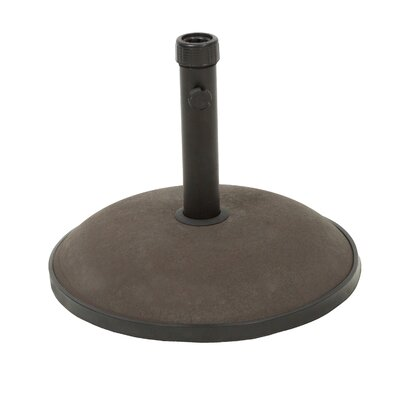 Concrete & Steel Umbrella Base Finish: Brown