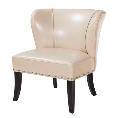 Boyers Slipper Chair Color: Ivory