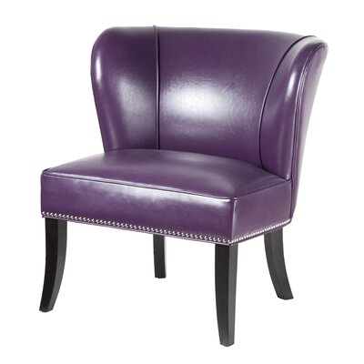 Boyers Slipper Chair Color: Purple