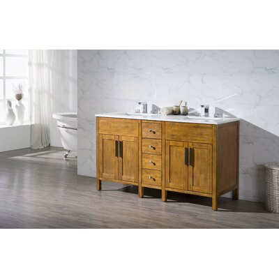 Boykins 59 Double Sink Bathroom Vanity Set