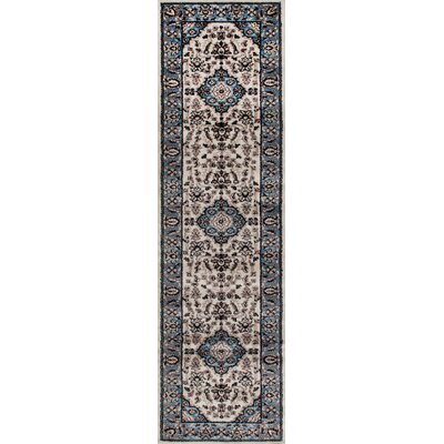 Brainard Blue Area Rug Rug Size: Runner 2 x 72